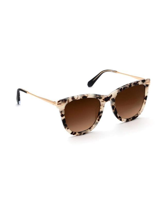 Simone Gradient Square Acetate Sunglasses