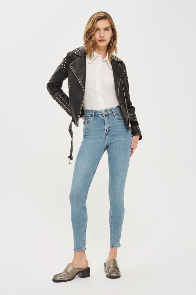 Topshop Moto Winter Bleach Jamie Jeans