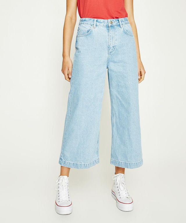 Neuw Denim Paris Crop in Fille