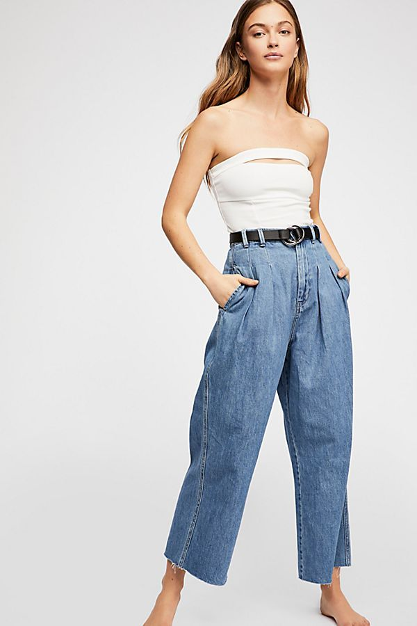 Free People Denim River Winds Pant