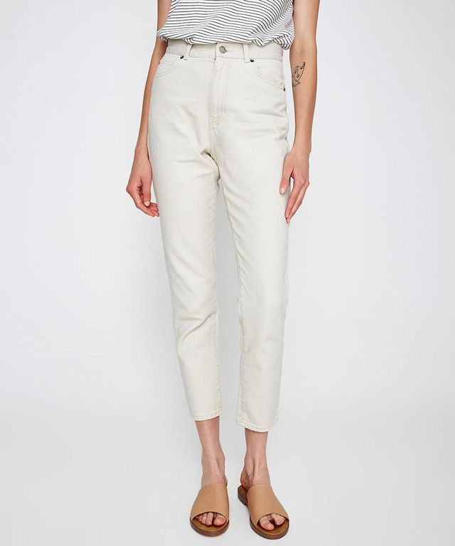 Dr Denim Nora Buff Beige Jeans