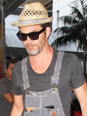 ICYMI: Chris Pine Has Been Wearing Overalls Since 2016