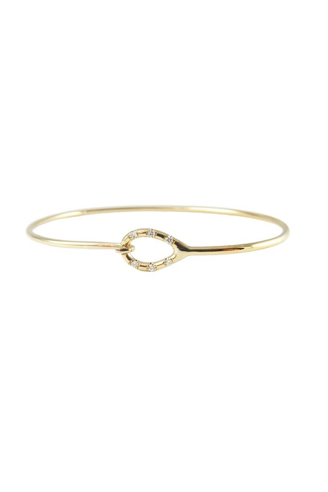 Jennie Kwon Diamond Loop Bracelet