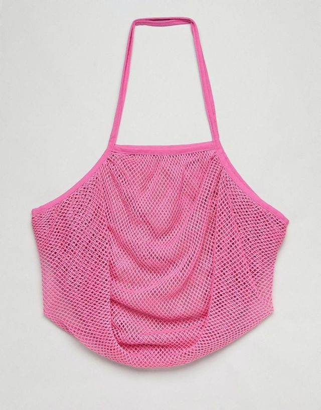 BEACH String Shopper Bag