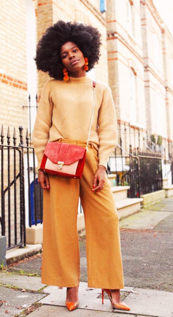 Autumn Outfit Ideas: Orange and orange and orange
