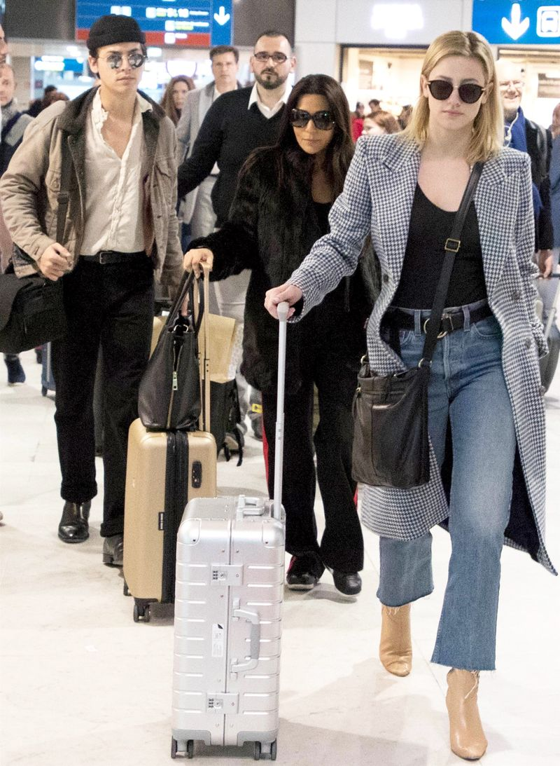 PSA: Cole Sprouse and Lili Reinhart Are Looking Very Chic in Paris