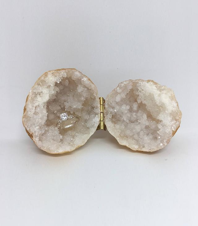 Tamaray's Teepee Geode Ring Box