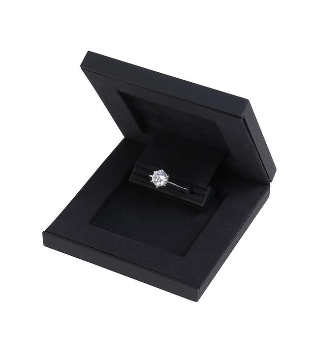 Slim Proposal Box Engagement Ring Box