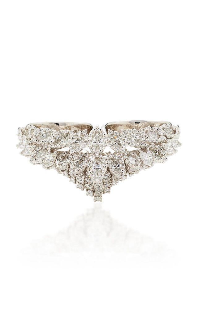 Chevalier Double Diamond Ring