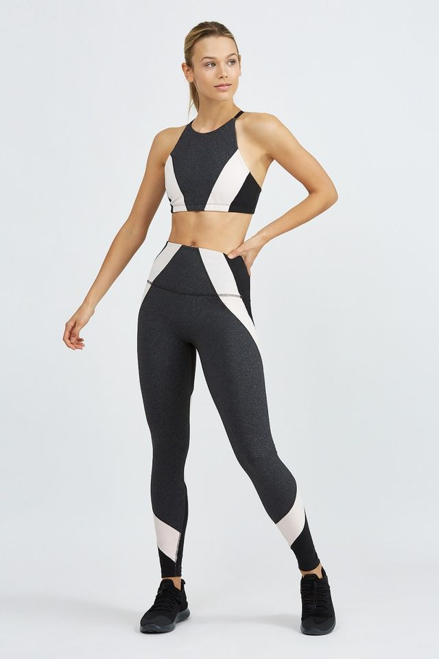 Beyond Yoga Around the Colorblock High Wasted Long Legging
