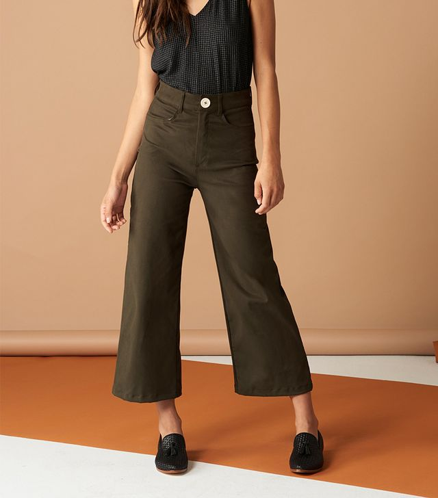 Whimsy and Row Flora Pant in Army Green