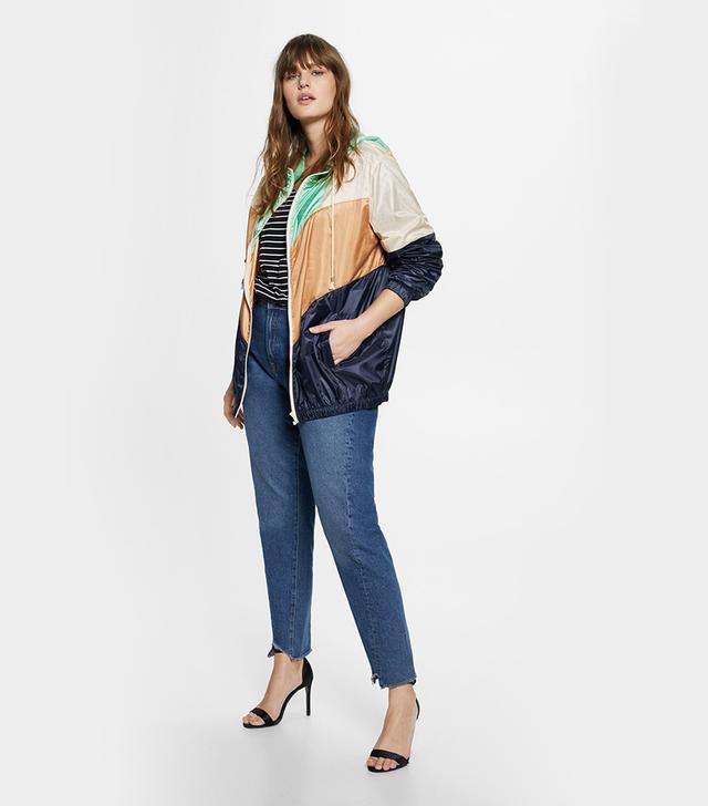 Violeta Contrast Striped Jacket