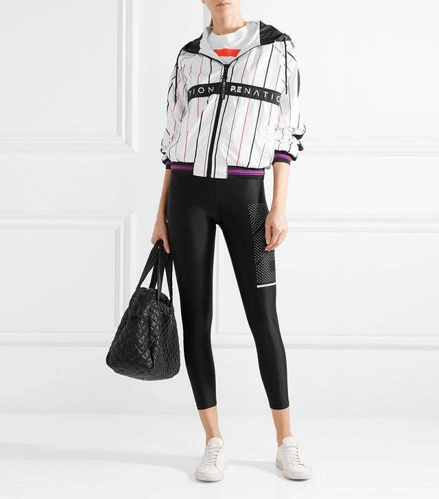 Intensity Hooded Striped Shell Jacket