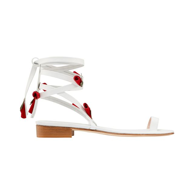 MR by Man Repeller Rose Sandals