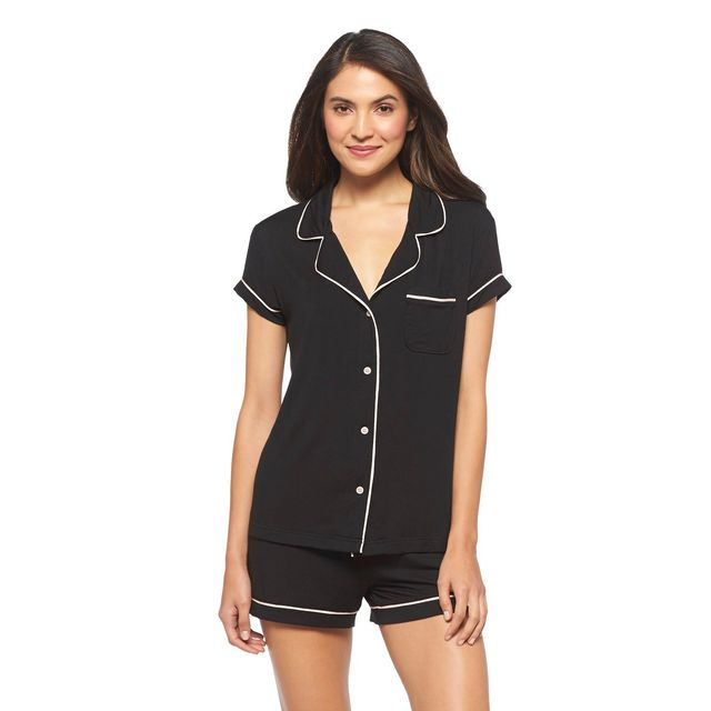 Gilligan & O'Malley Pajama Set in Black