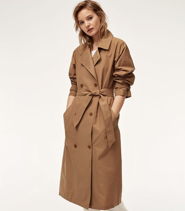 Aritzia Community Relaxed Trench