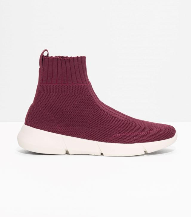 & Other Stories Sock Sneaker