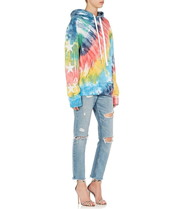 Amiri Tie-Dyed Cotton Hoodie