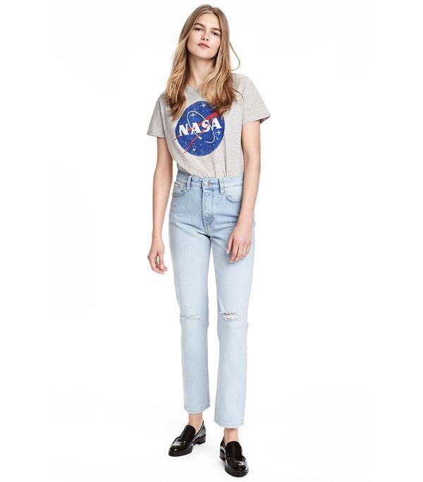 Vintage High Ankle Jeans