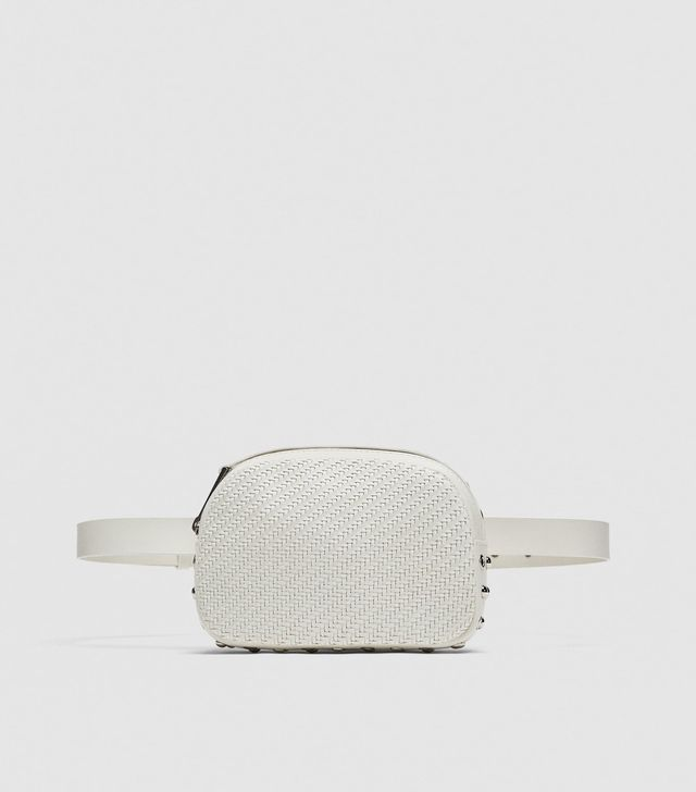 Zara Braided Crossbody Belt Bag