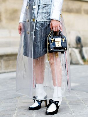 Sheer Raincoats—They're a Thing