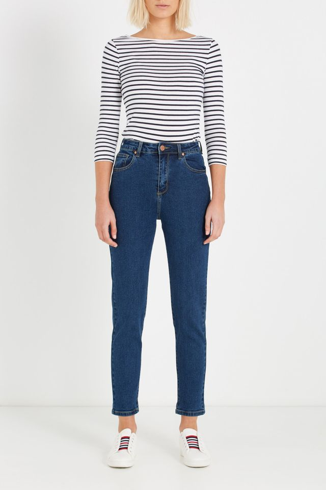 Cotton On High Rise 90s Stretch Jean