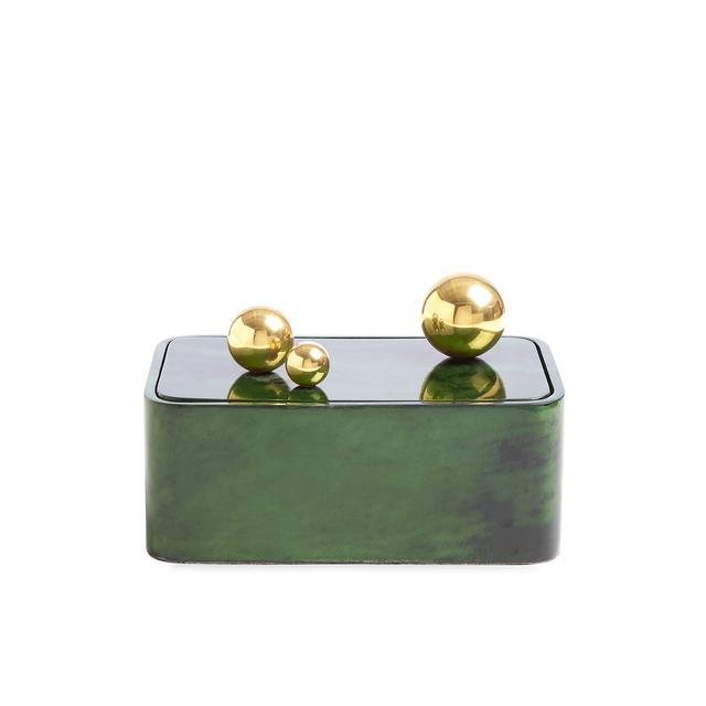 Johnathan Adler Trocadero Box in Jade