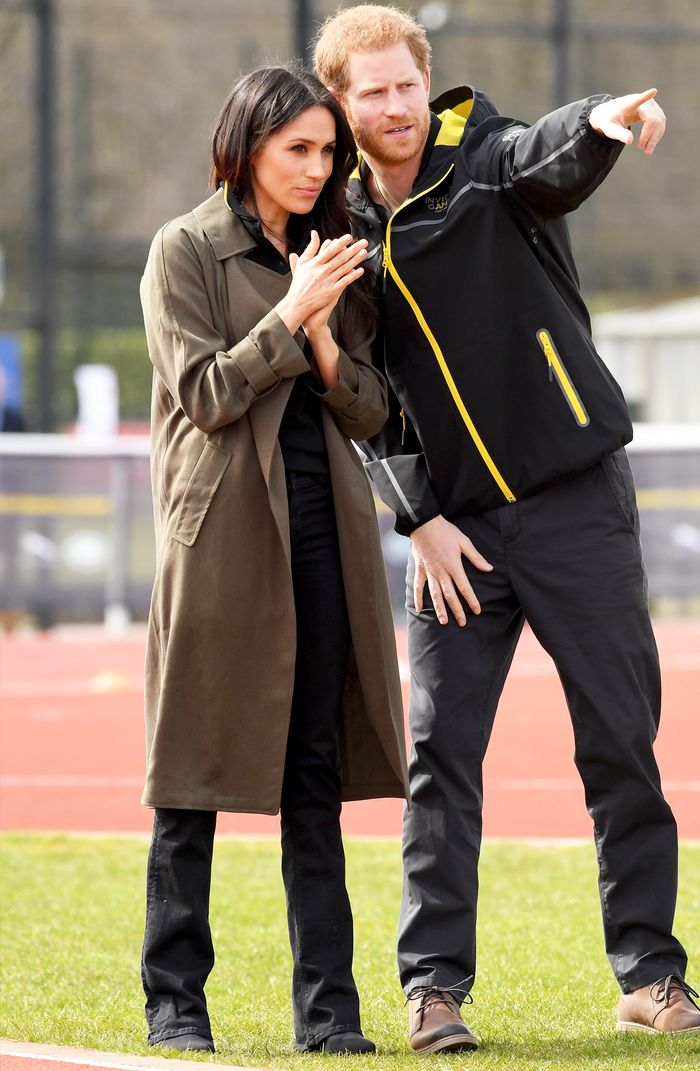 Meghan Markle trench coat: Invictus Games trials