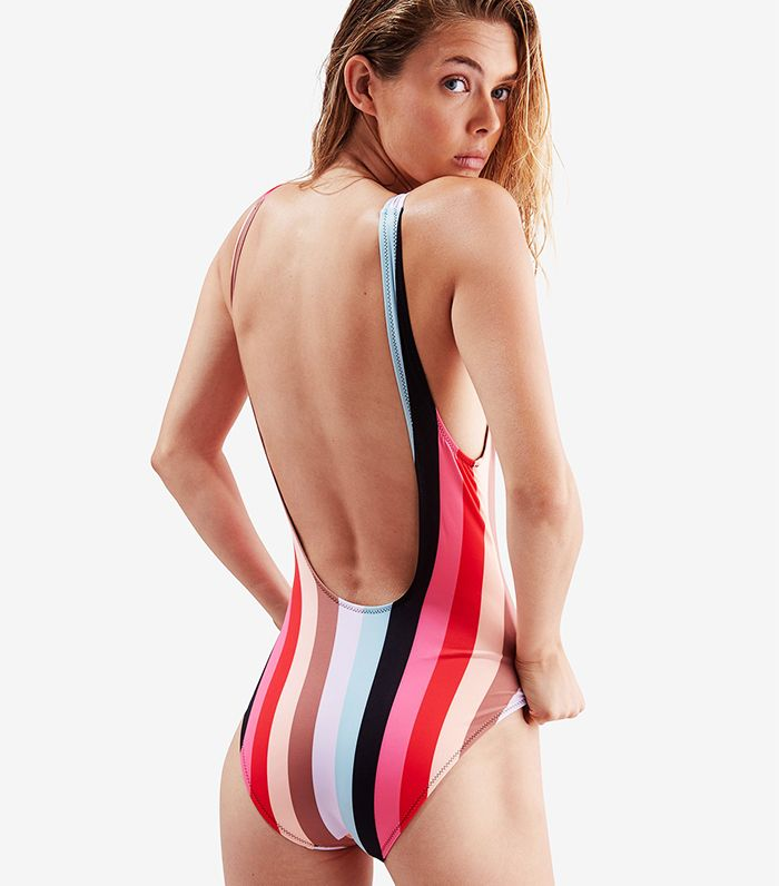 The Best Low Back One Piece Swimsuits | Who What Wear UK