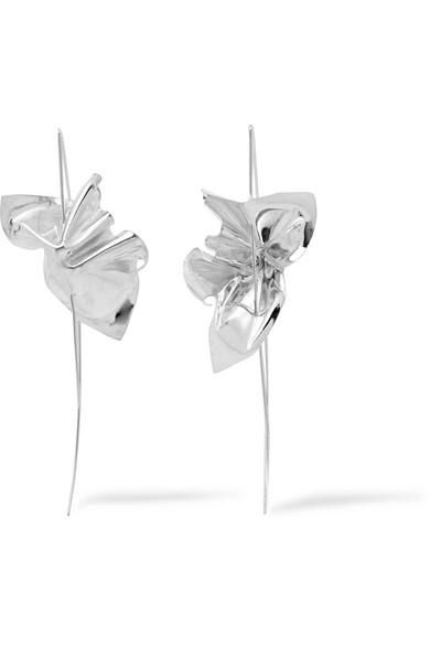 Closer By Wwake Lancet Sterling Silver Earrings