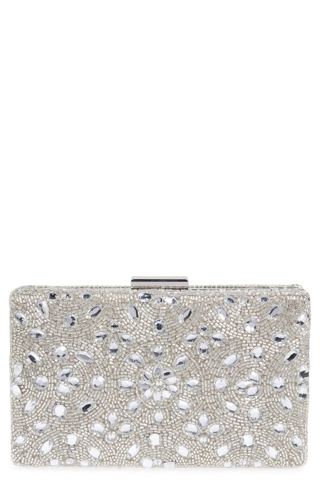 Medallion Beaded Minaudiere -