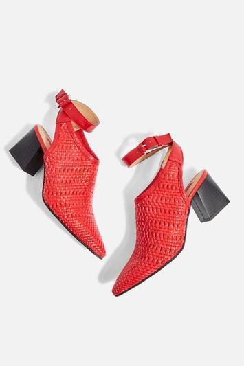 Nett Woven Point Shoes