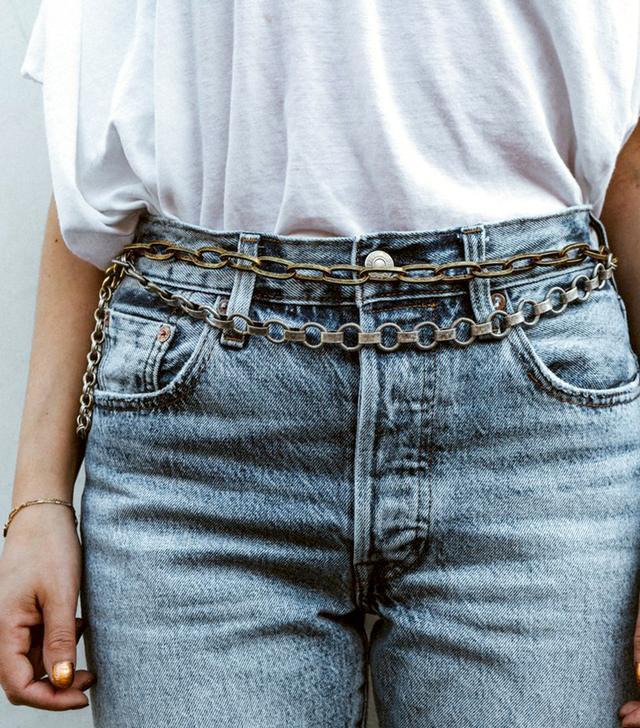 Coco Sands Asher Double Waist Chain Belt