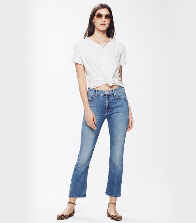 Mother Insider Ankle Jeans in One Smart Cookie