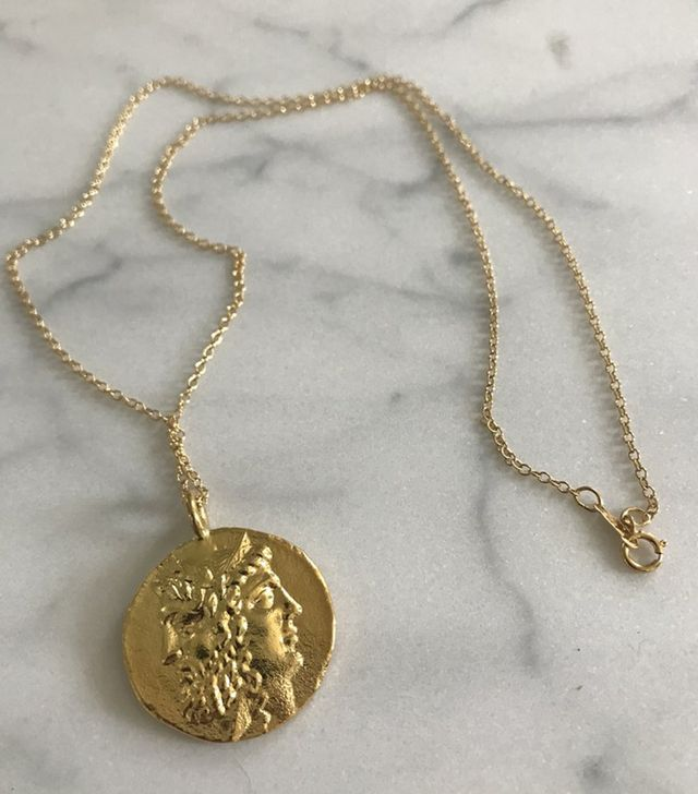 Hart Janus Lucky Coin Necklace