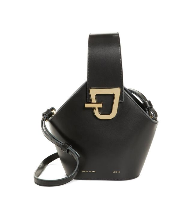 Danse Lente Mini Johnny Leather Bucket Bag -