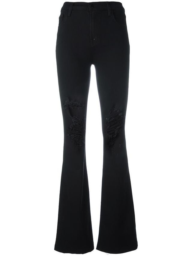 'Maria' flared jeans