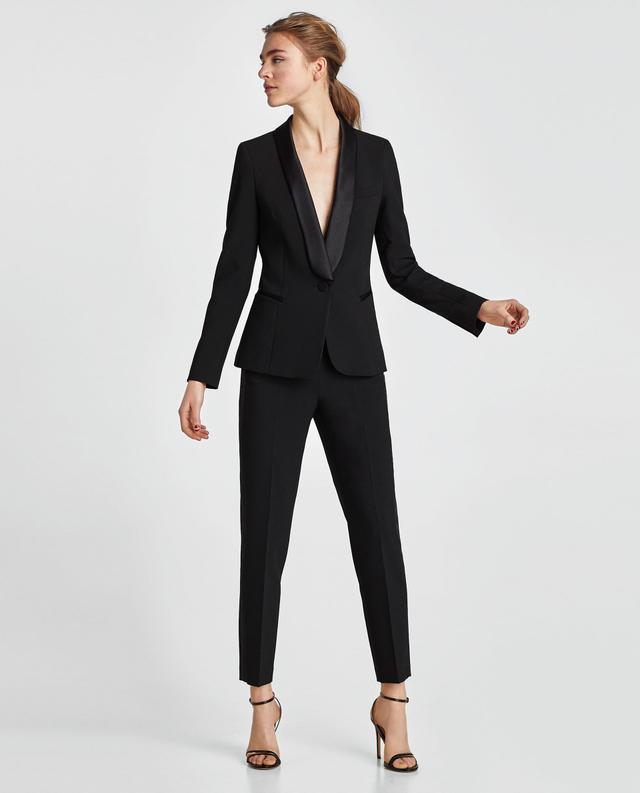 Zara Tuxedo Style Blazer