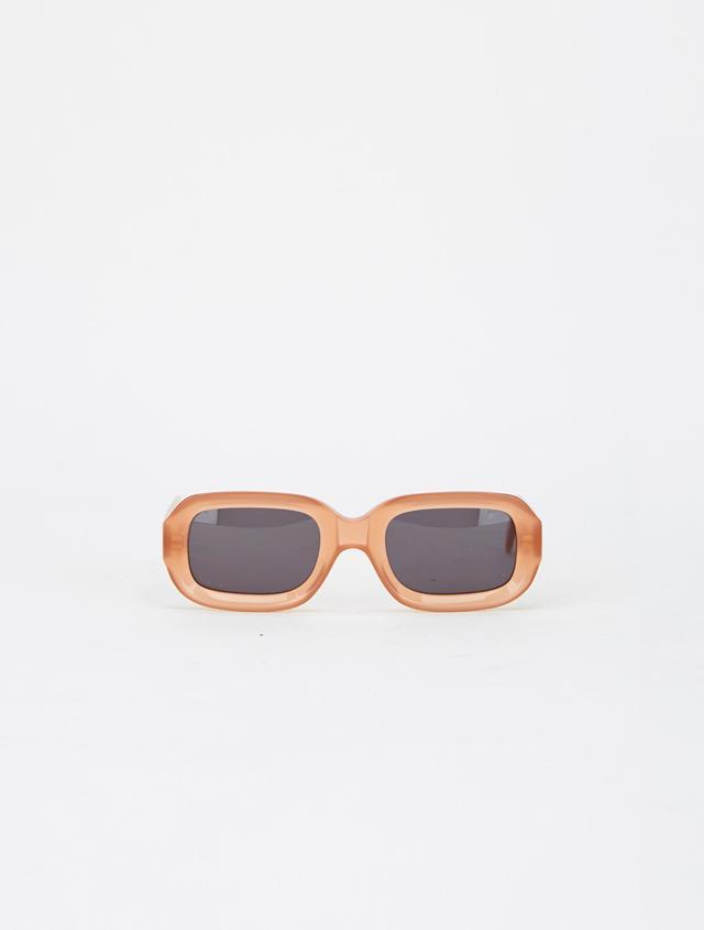 Illesteva Vinyl Sunglasses in Apricot