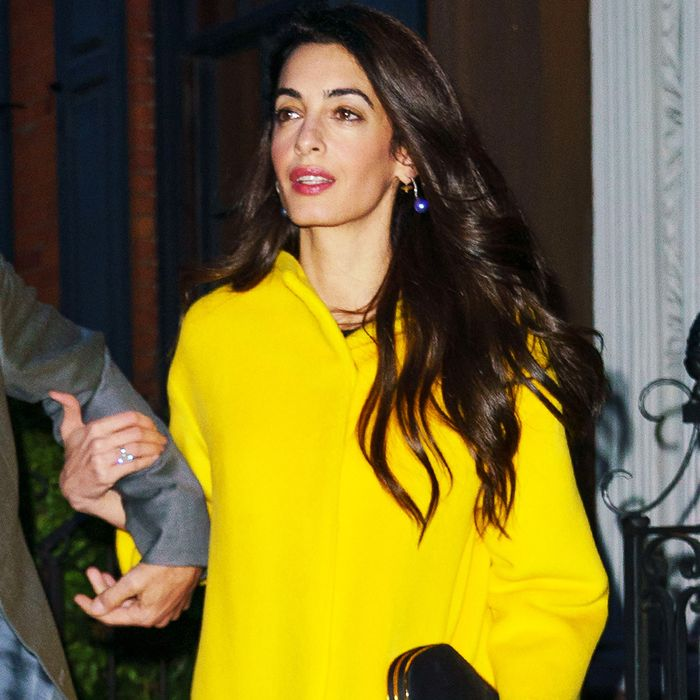 Amal Clooney's Date-Night Shoes Will Make You Look Twice