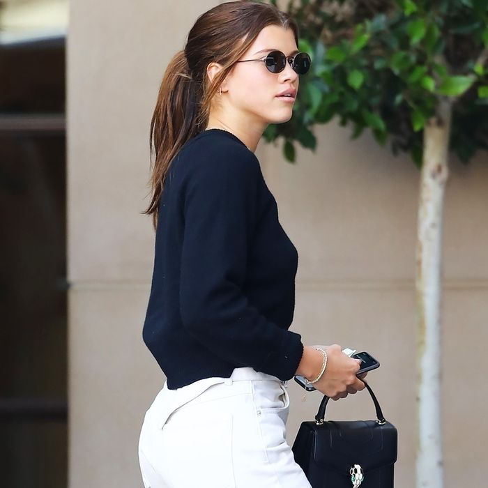 Reformation Made Non-Scary White Jeans, and Sofia Richie Approves