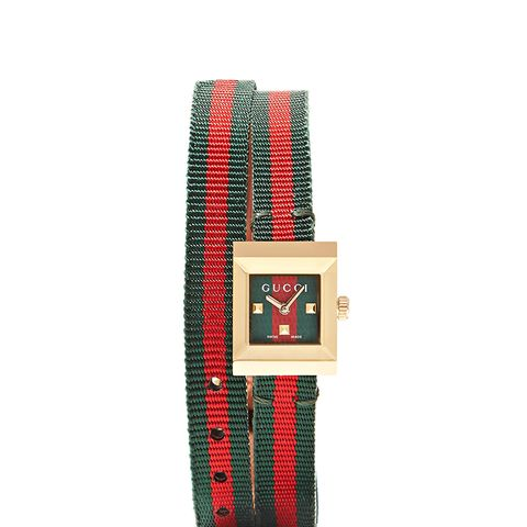 Striped Canvas Watch