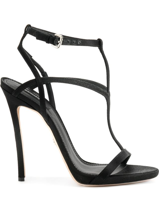 DSquared2 T-Strap Stiletto Sandals