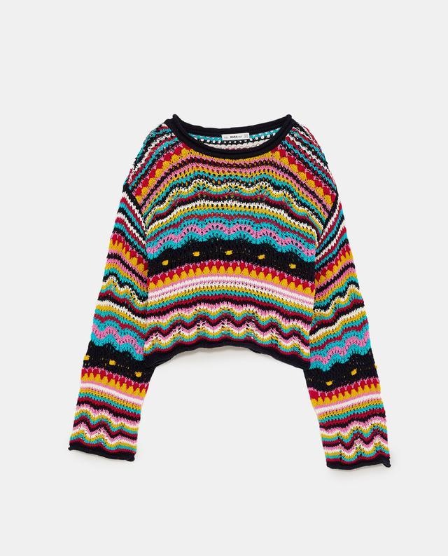 Zara Multicoloured Sweater