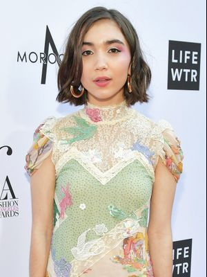 Rowan Blanchard's Disney-Inspired Dress Deserves a Close-Up Look