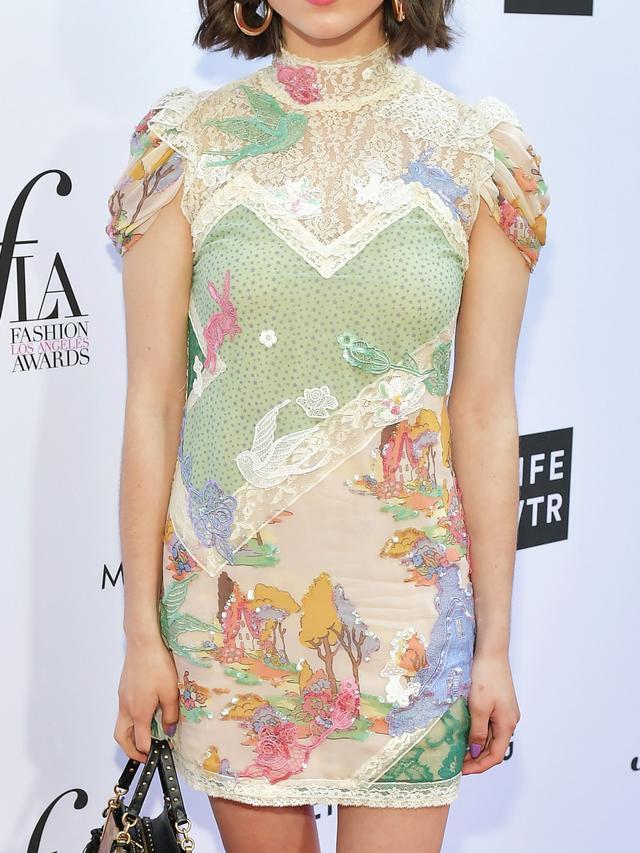 Rowan Blanchard's Disney-Inspired Dress Deserves a Close-Up Look