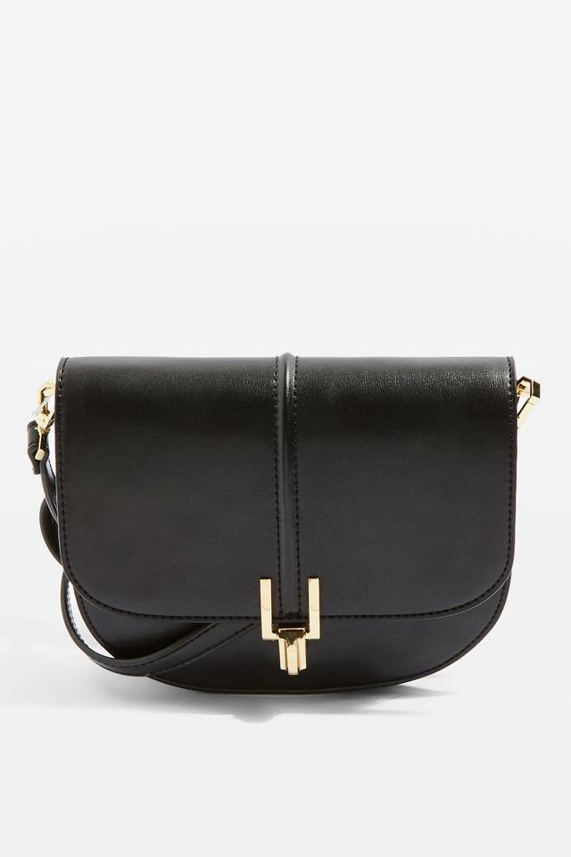 Rue Black Cross Body Bag