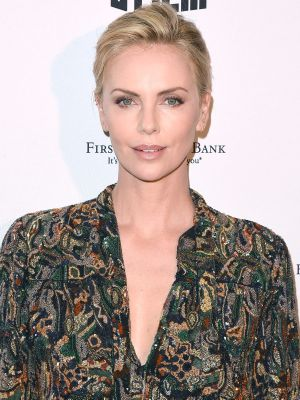 Charlize Theron's Red Carpet Shorts Are So Much Cooler Than a Gown