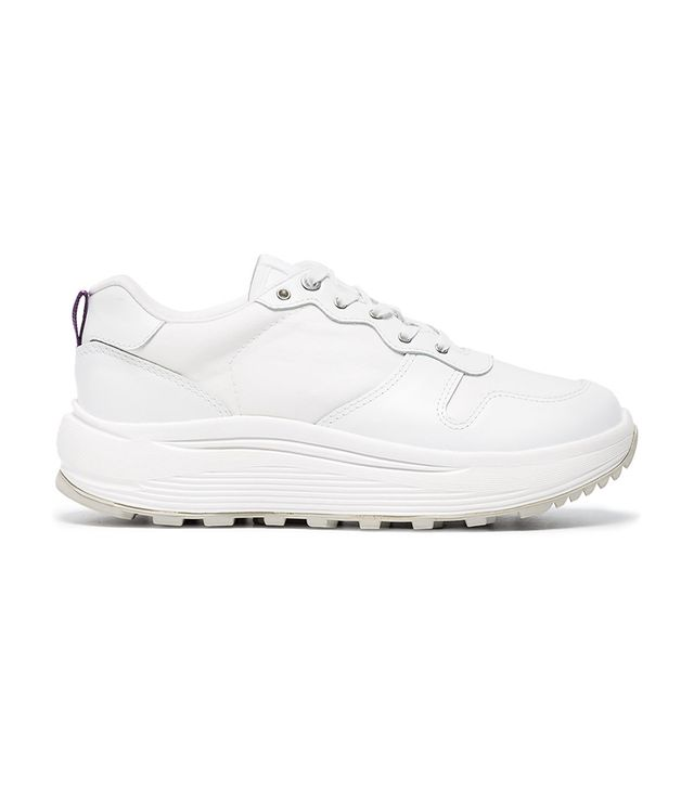 white Jet Combo leather sneakers