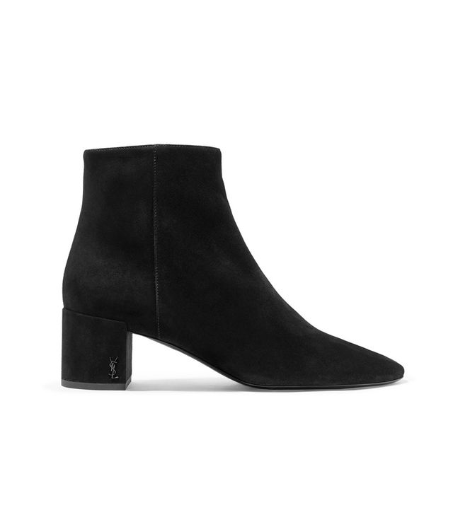 Loulou Suede Ankle Boots